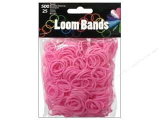 Best of 2013 Midwest Design Loom Bands: Midwest Design Loom Bands 525 pc. Light Pink
