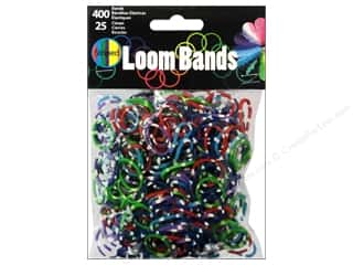 Midwest Design Loom Bands 425 pc. Striped Assorted