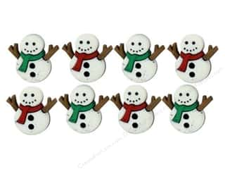 scrapbooking & paper crafts: Jesse James Dress It Up Embellishments Sew Cute Snowmen