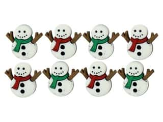 craft & hobbies: Jesse James Embellishments - Sew Cute Snowmen