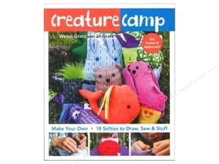 FunStitch Studio Creature Camp Book by Wendy Gratz & Jo Gratz