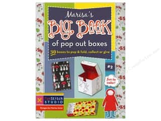 FunStitch Studio Marisa's Big Book Of Pop Out Boxes Book by Marisa Anne