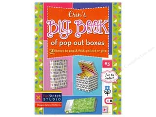 FunStitch Studio Erin's Big Book Of Pop Out Boxes Book by Erin McMorris