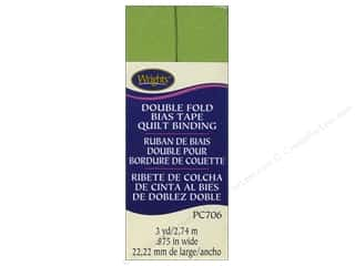 sewing & quilting: Wrights Double Fold Quilt Binding 3 yd. Leaf Green