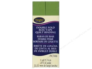 sewing & quilting: Wrights Double Fold Quilt Binding 3 yd. Kiwi Green