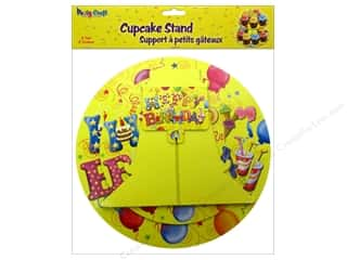 Multicraft Party Cupcake Stand 2 Tier Balloon Blast