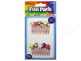 Weekly Specials Artistic Wire: Cousin Fun Pack Kit Bead Hair Comb Beaded