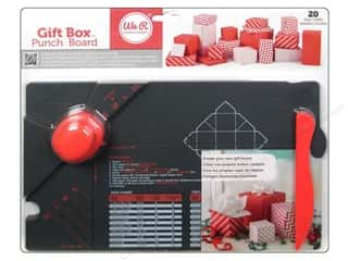 Best of 2013 We R Memory Tool Punch: We R Memory Keepers Gift Box Punch Board