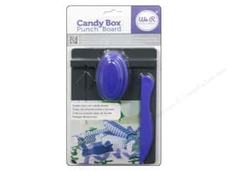 Best of 2013 We R Memory Tool Punch: We R Memory Keepers Candy Box Punch Board