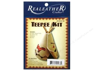 Projects & Kits: Silver Creek Leathercraft Kit Mini Teepee
