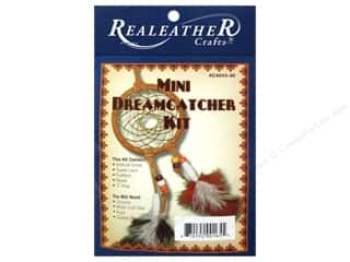 projects & kits: Silver Creek Leathercraft Kit Mini Dreamcatcher