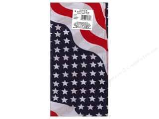 craft & hobbies: Darice Bandana 22 x 22 in. Stars & Stripes