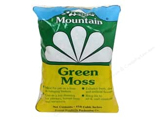 moss: Oregon Mountain Green Moss 410 Cubic Inch Bag