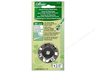 Gifts & Giftwrap: Clover Rotary Cutter Blade Refill 45 mm 1 pc. Wave