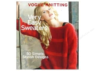yarn  books: Sixth & Spring Vogue Knitting Very Easy Sweaters Book by Trisha Malcolm