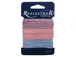 Silver Creek Soft Suede Lace 3/32 in. x 8 ft. Assorted Spring