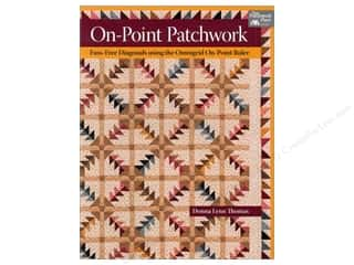 Clearance Books: That Patchwork Place On Point Patchwork Book by Donna Lynn Thomas