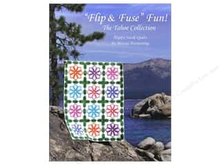 books & patterns: Happy Stash Quilts Flip & Fuse Fun! Book by Marcia Harmening