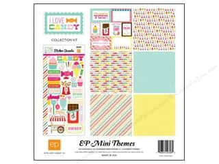 Clearance Echo Park Collection Kit: Echo Park 12 x 12 in. Collection Kit I Love Candy