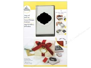snowflake punch: EK Paper Punch & Stamp Set Holiday Ornament