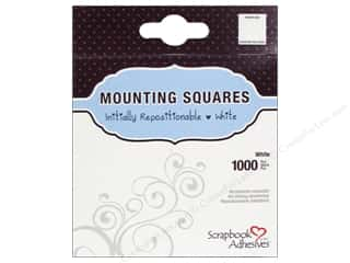3L Scrapbook Adhesives Mounting Squares 1000 pc. Repostitionable