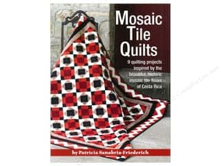 Landauer Mosaic Tile Quilts Book by Patricia Sanabria-Friederich
