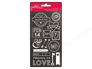Everything You Love Sale American Crafts Ribbon: Pebbles Rub On Yours Truly Watermark