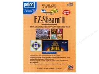 Pellon batting: Pellon EZ-Steam II Fusible Web 12 x 9 in. 5 pc.