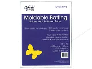 Bosal Heat Moldable Batting 18 x 45  in.