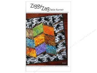 Tiger Lily Press Ziggy Zag Table Runner Pattern