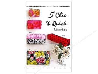 Tiger Lily Press 5 Chic & Quick Toiletry Bags Pattern