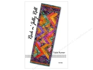 Tiger Lily Press Rock N Jelly Roll Table Runner Pattern