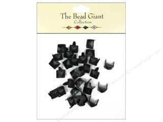 craft & hobbies: The Bead Giant Collection Nailhead Pyramid 1/4 in. Black 30 pc.