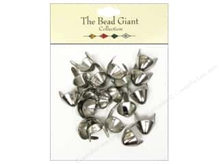 Clearance: The Bead Giant Collection Nailhead Spike Medium Silver 20 pc.
