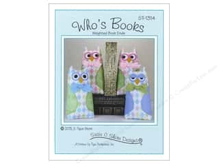 books & patterns: Susie C Shore Who's Books Pattern
