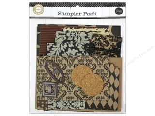 burlap: Canvas Corp Embellishment Sampler Packs Dark Neutral