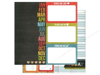 Simple Stories: Simple Stories 12 x 12 in. Paper Daily Grind Page Elements (25 sheets)