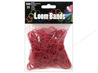 Midwest Design Loom Bands 525 pc. Burgundy