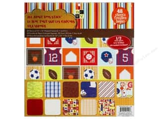 Clearance Die Cuts with a View Stacks: Die Cuts With A View 12 x 12 in. Cardstock Mat Stack All About Boys