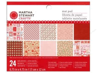 Clearance K&Co Mat Pad 4.75x6.75: Martha Stewart Mat Pad Love Notes