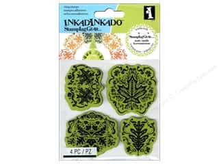 Inkadinkado Cling Stamp Stamping Gear Maple Leaf