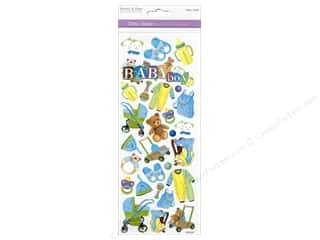 Scrapbooking & Paper Crafts  Papers : Multicraft Sticker Paper Craft Glitter Baby Boy
