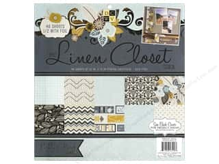 Clearance Die Cuts with a View Stacks: Die Cuts With A View 12 x 12 in. Cardstock Stack Linen Closet #2