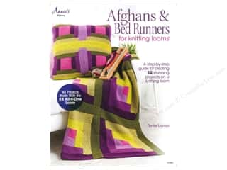 Annie's Afghans & Bed Runners For Knitting Looms Book by Denise Layman