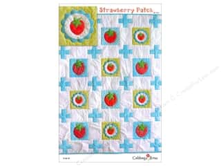 Cabbage Rose Strawberry Patch Pattern