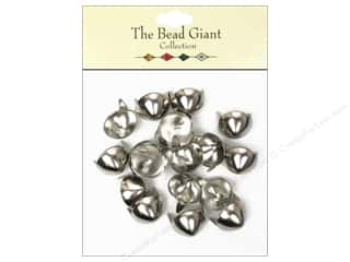 The Bead Giant Collection Nailhead Cone 1/2 in. Silver 20 pc.