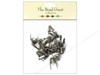 craft & hobbies: The Bead Giant Collection Nailhead Spike Small Silver 16 pc.