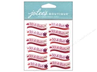 Jolee's Boutique Stickers It's A Girl Banner Repeat