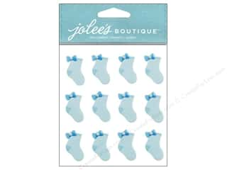 stickers: Jolee's Boutique Stickers Baby Boy Socks Repeat