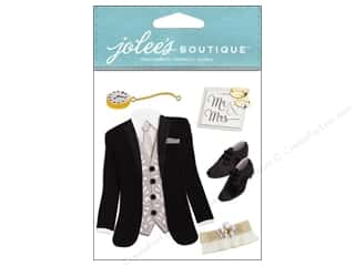 scrapbooking & paper crafts: Jolee's Boutique Stickers Tuxedo